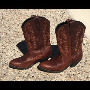 || LEATHER WOMEN'S COWBOY BOOTS ||